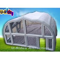 Blow Up Shelter : Details of mm pvc inflatable event tent grey air tight