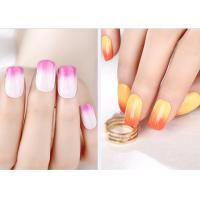 Best Multi Color MSDS GMP Mood Changing Gel Nail Polish Environment - Friendly wholesale