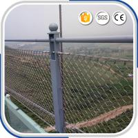Best Outdoor fashional 2.0 mm X-tend stainless steel decorative rope mesh fence wholesale