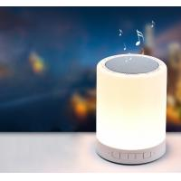 Best LED Bedside Lamp and Night light Portable Bluetooth Speaker 3W LED Outdoors Mini Speaker wholesale