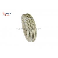 China Nickel Plated 300V 500V Fiberglass Refractory Braided Cable on sale