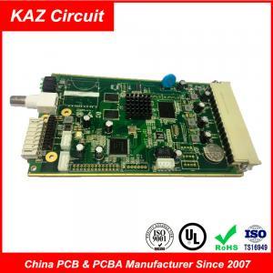 Best FR4 TG150 1oz ENIG Industrial PCB for Media decoders Board 1.6mm wholesale