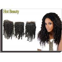 Best Deep Curly Double Drawn Human Hair For Wedding Gifts / Double Drawn Weave Hair Extensions wholesale