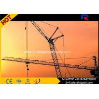 Quality Split Mast Section Luffing Jib Tower Crane 2.0t Tip Load With VFD Control wholesale