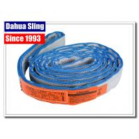 Best Eye To Eye Flat Lifting Slings Class 5 Safety Factor OSHA And ASME Standards wholesale