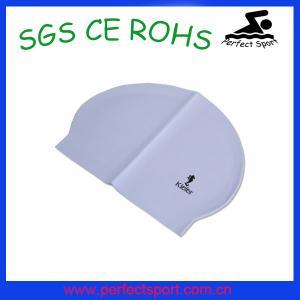 Best Soft wear latex swimming caps wholesale