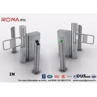 Cheap Semi - Automatic Swing Barrier Gate Card Readers for Door Entry Pass System for sale
