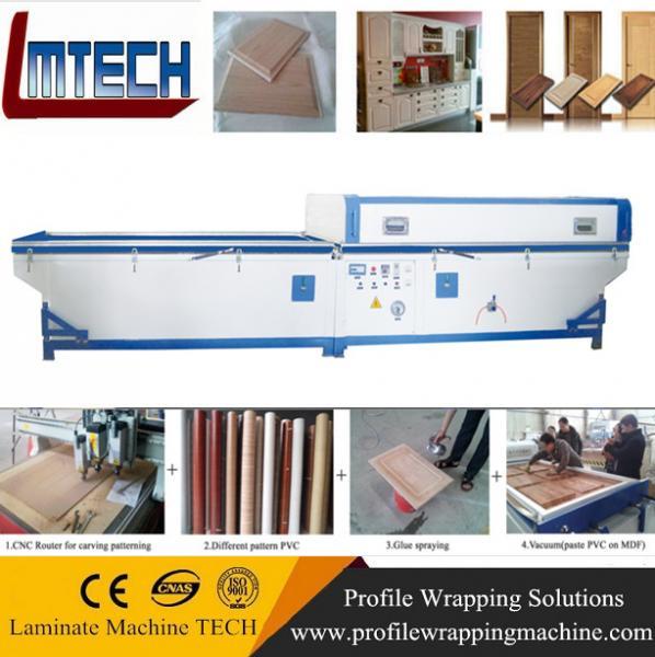 membrane press machine laminating press machine for cabinet