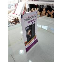 Best Mini Table  X Style Banner Stand Digital Printing Desktop Advertising Display wholesale