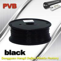 Best High Strength ABS and PLA 3D Printer Filament 1.75mm Black Color wholesale