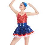 Best Amazing Tap Costume Race Back Dance Dress Performance Wear wholesale