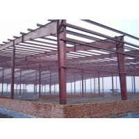 China Gable Frame Steel Structure Construction 60 X 40 X 8 M For Warehouse Frame on sale
