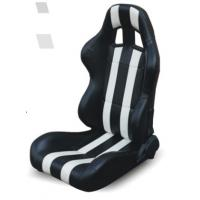 Best High performance universal sport car seats / black and white bucket seats wholesale