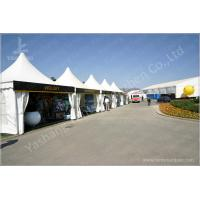 Quality Outside Show Activities High Peak Tension Tents With 850Gsm Top Cover Fabric Cover wholesale