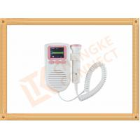 China Color LCD TFT Display FHR Ultrasound Pocket Fetal Doppler Fetal Heart Rate on sale