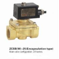 China Brass Explosion Proof Solenoid Valve , Solenoid Gas Valve Low Voltage on sale