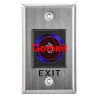 Best Infrared Long Door Release Switch / Exit Button Recessed Mounted wholesale