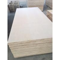 Buy cheap 1220*2440mm Cabinet grade White Birch Plywood , Poplar/Eucalyptus Core from wholesalers