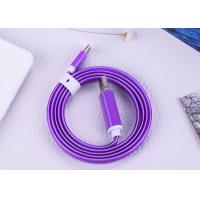 Cheap 3 Feet USB Type C Cable With 2A Purple LED Glow Light For Mobile Phones for sale