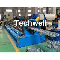 Best 90mm Shaft Diameter Cable Tray Roll Forming Machine With 3.0kw Servo Feeding Device wholesale