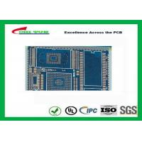 Best PCB Fabrication And Assembly Printed Circuit Board Assemblies 6 Layer Blue Solder Mask wholesale