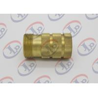 Buy cheap ø10 Through Hole Roughness Custom CNC Parts 3.2 Knurled Brass Bushing from wholesalers