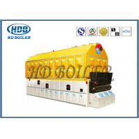 Best Biomass Fired Wood Burning Steam Boiler Fire / Water Tube High Pressure wholesale