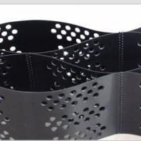 Best Smooth Surface HDPE Geocell 100mm Height  Black Color With Hole wholesale