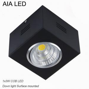 Best IP42 blackCOB 3W Ceiling down light&LED Grille light wholesale