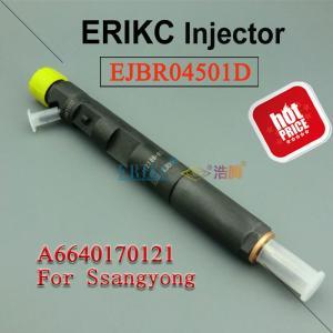 Best Ssangyong diesel fuel injection pump EJBR04501D high pressure injector R04501D,Diesel  Injector 4501D delphi 6640170121 wholesale