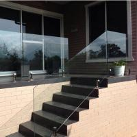 Cheap High Quality Modern Design Stainless Steel and Glass Balcony Railings for sale