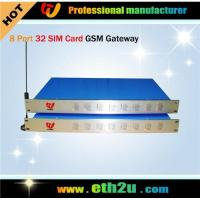 Best GSM Gateway (8 channels with 32 sim cards) ETH-0832 wholesale
