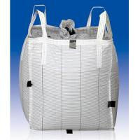 Best Anti - Static PP Woven TYPE C Conductive Big Bags 4 Panel Cross Corner Loops wholesale