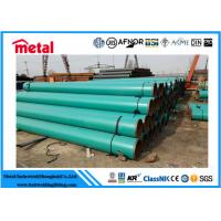 Best 21.3 - 660 Mm Dia Plastic Coated Steel Tube , Green 2 Inch Schedule 40 Steel Pipe wholesale