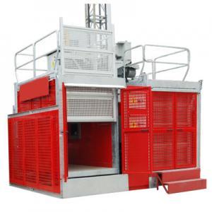 Best Industrial Passenger Construction Material Hoist Elevator 2 Ton 0 ~ 60m/min wholesale