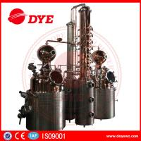 Best 66 Gal Industrial Copper Distillery Equipment Vodka Copper Alcohol Distiller wholesale