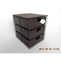 Best 3-drawer storage box made by Paper rope wholesale