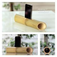 Best Environmentally green bamboo surround sound speaker, bamboo loudspeaker for iPhone wholesale