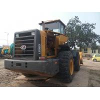 16.6 Ton Tractor Front End Loaders Secong Hand Lingong SDLG953 5000kg Rated Load