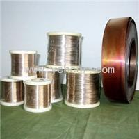 Buy cheap low resistance coefficient F2 6J13 manganin alloy Constantan Wire for heating from wholesalers