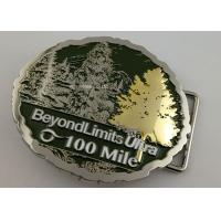 Best Double Plating 3D Man Custom Made Buckles For Running Awards Single Or Double - Sided wholesale