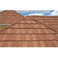 Wave Roof Tiles Double Roman Roof Tiles Stone Coated Steel Roofing Tile