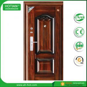 Best water proof steel door entrance metal door latest main gate designs wholesale