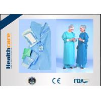 Buy cheap SMMMS / SMMS Disposable Surgical Gowns , Disposable Medical ScrubsAcid Proof from wholesalers