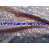 Best High Fastness Gold Foil Print Cotton Jersey Resist Multiple Wash 183GSM wholesale