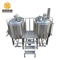 Ale Beer Commercial Brewing Equipment 2 Vessels 5HL Stainless Steel Body