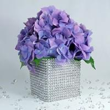 Best Plastic Rhinestone Banding Chain Bulk Plastic Rhinestone Wedding Cake Decoration wholesale