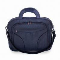 Laptop Bag with Shoulder Strap, Made of 1680D Polyester Fabric and 2 Zippered Front Compartments