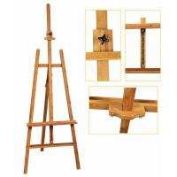 Best Bamboo Adjustable Artist Painting Easel Tripod Stand For Painting OEM Avaliable wholesale