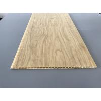 Best 7.5mm Thick Corrosion Resistant PVC Wood Panels for Ceiling / Wall Cladding wholesale